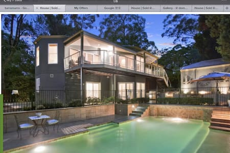 This home runs on love, feel unique - Turramurra - Villa