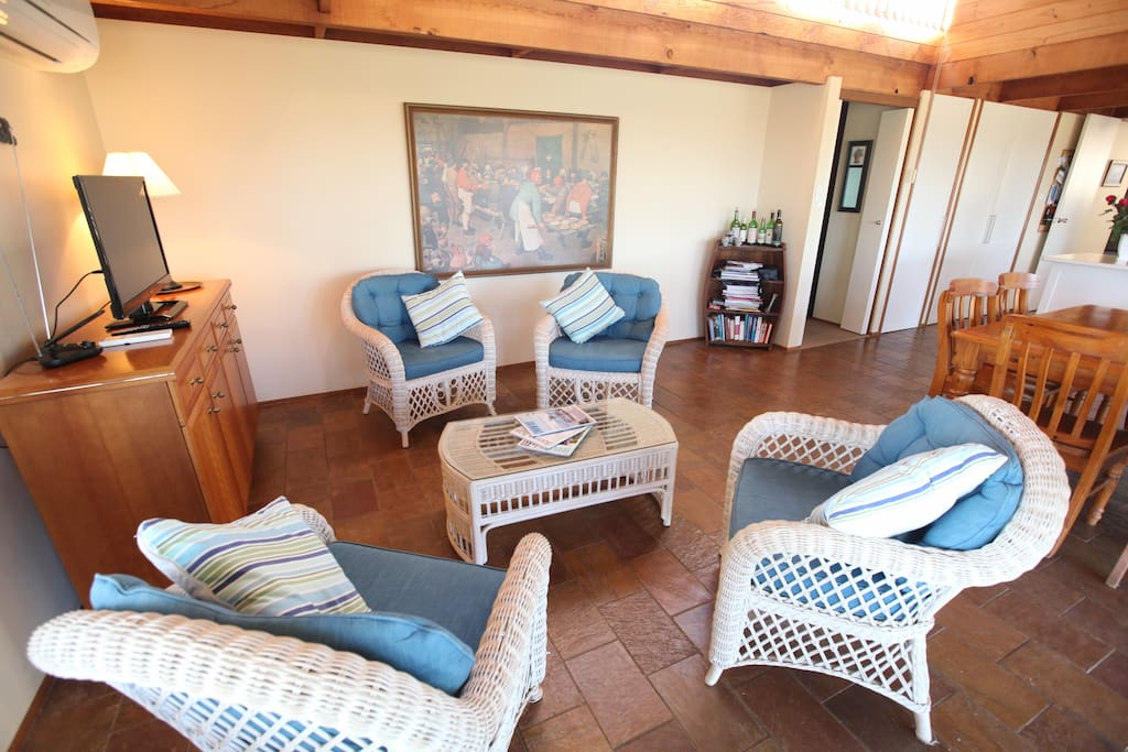 The Family Room is adjacent to the Breakfast Room and kitchen