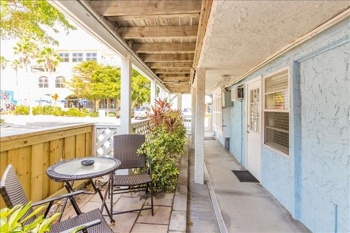 NEW LISTING! 1 Block From The Beach, Perfect for 2