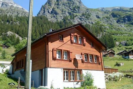 Ferienwohnung in den Bergen auf der Golzernalp