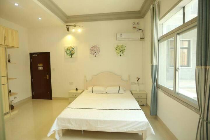 湄洲岛花间舍度假民宿--大床房201(码头接送)