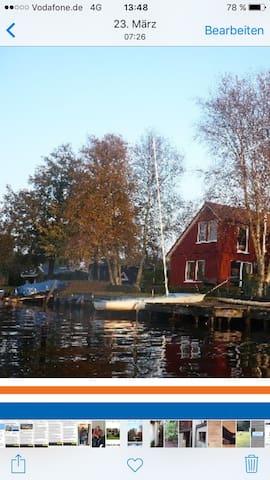 Romantisches Ferienhaus am Kleinen Meer - Emden - Dům
