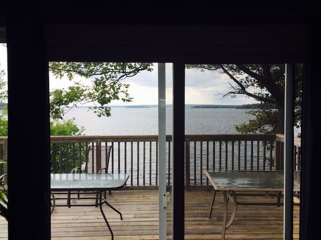 Modern 4BR On Rice Lake South Shore - Roseneath - Haus
