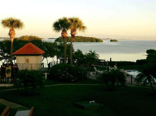 5 Star 2BR/2BA Waterfront, St Pete, Pool, Hot Tub