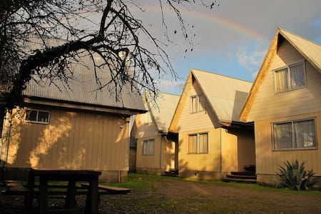 Cómodas cabañas en Barrio Patrimonial - Blockhütte