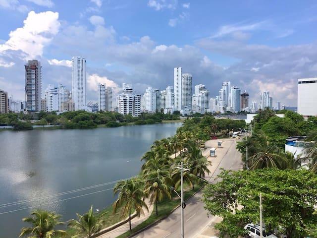 Aparta-estudio con hermosa vista