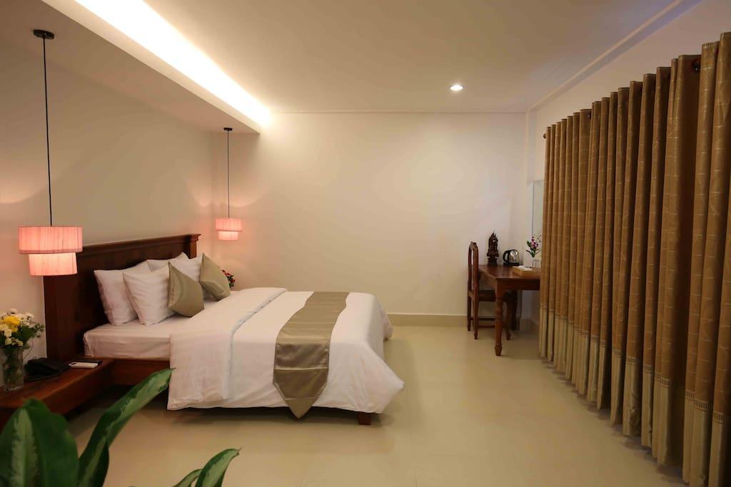 Superior Room at Holy Angkor Hotel