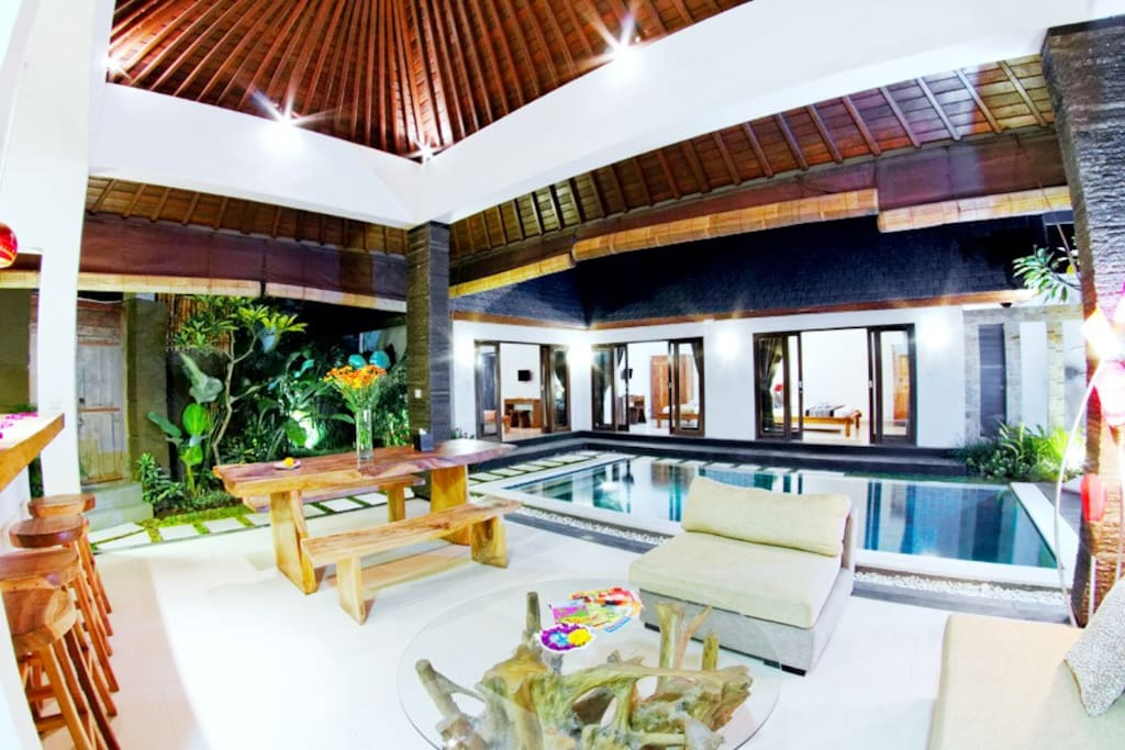 living room seminyak charming 3bdr villa of seminyak villas for rent 11544