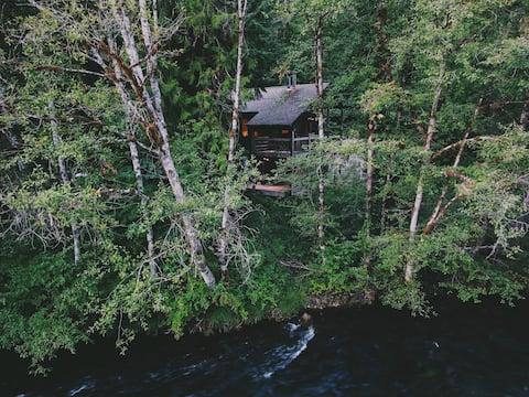 Mckenzie River Getaway - Modern Rustic UPPER CABIN