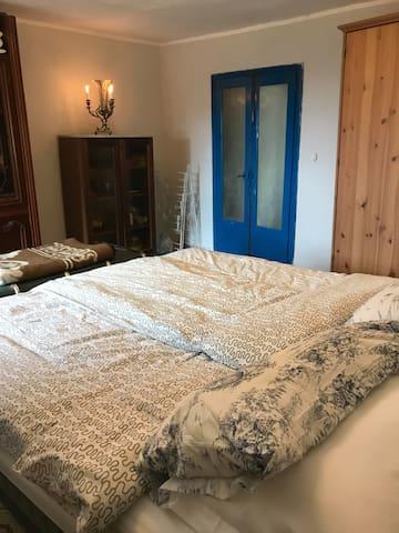 First bedroom on main floor