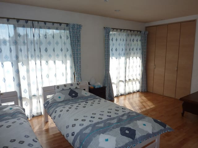 SORA-MAME、Sunny and cozy twin room