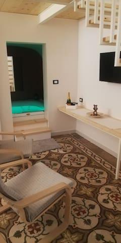 Dimora Palombaro, suite con idromassaggio