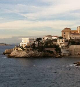 sea,charm & silence in city center - Marseille