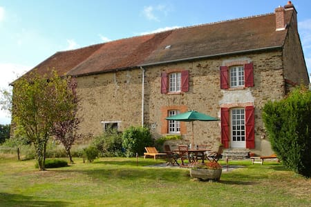 French Farmhouse Retreat - 3 Beds - Fresselines
