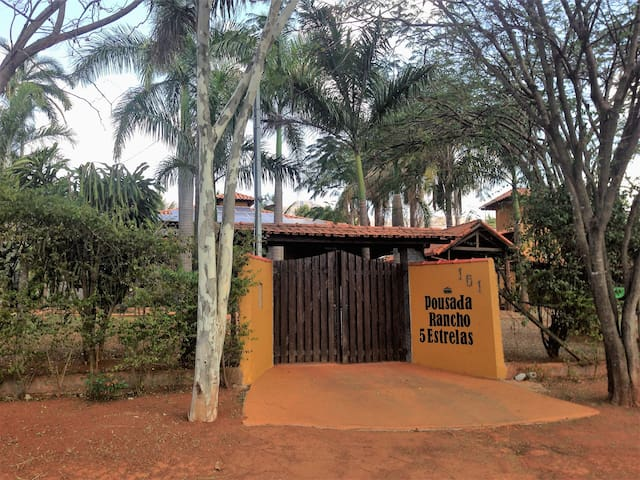 Local para descanso a apenas 30 Km de Inhotim