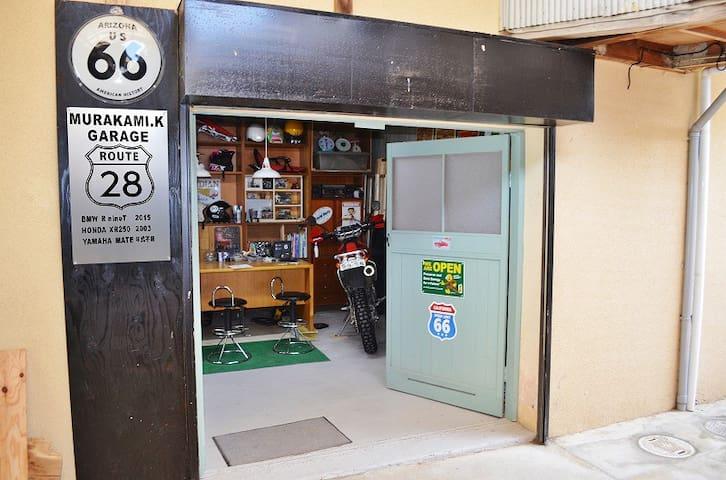 ライダーハウス&ゲストハウスかなじ村