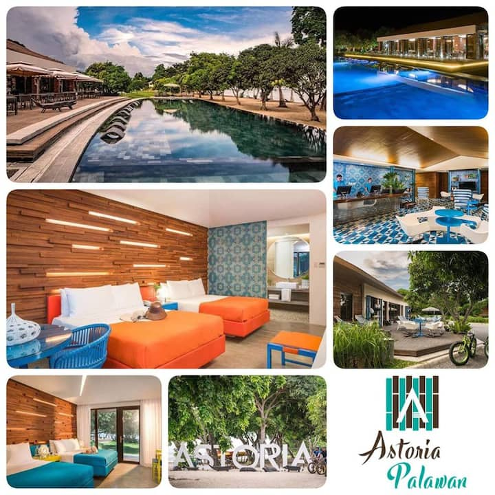 Hotel & Resort Astoria Palawan *4adults+2Kids