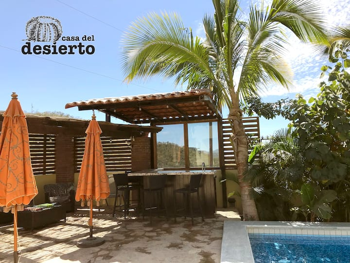With private pool: Casa del Desierto in San José