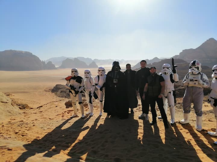 Raman camp for trips and camping in Wadi Rum