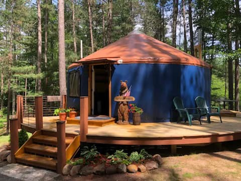 The Perry Pines Yurt