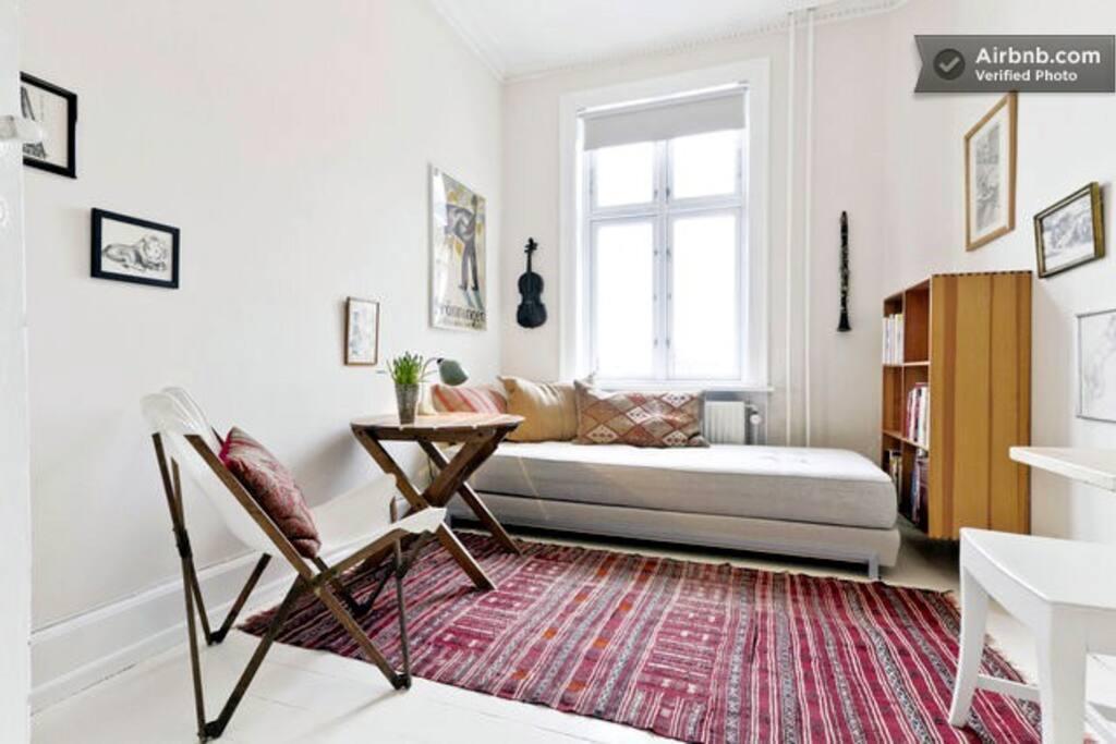 G2 n rrebro bl g rdsgade balcony wohnungen zur miete in for Kopenhagen unterkunft
