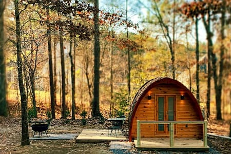 Unbelievable Glamping Pod in Historic High Falls!