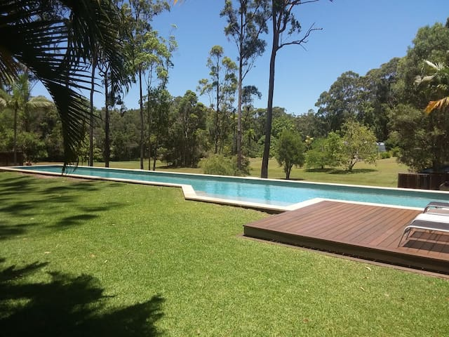 Noosa Country Haven - OWN 25Mtre POOL