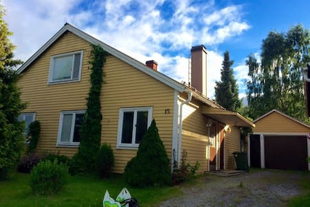 Warm and charming villa ideal for 1, 2 or 3 people - Kramfors V