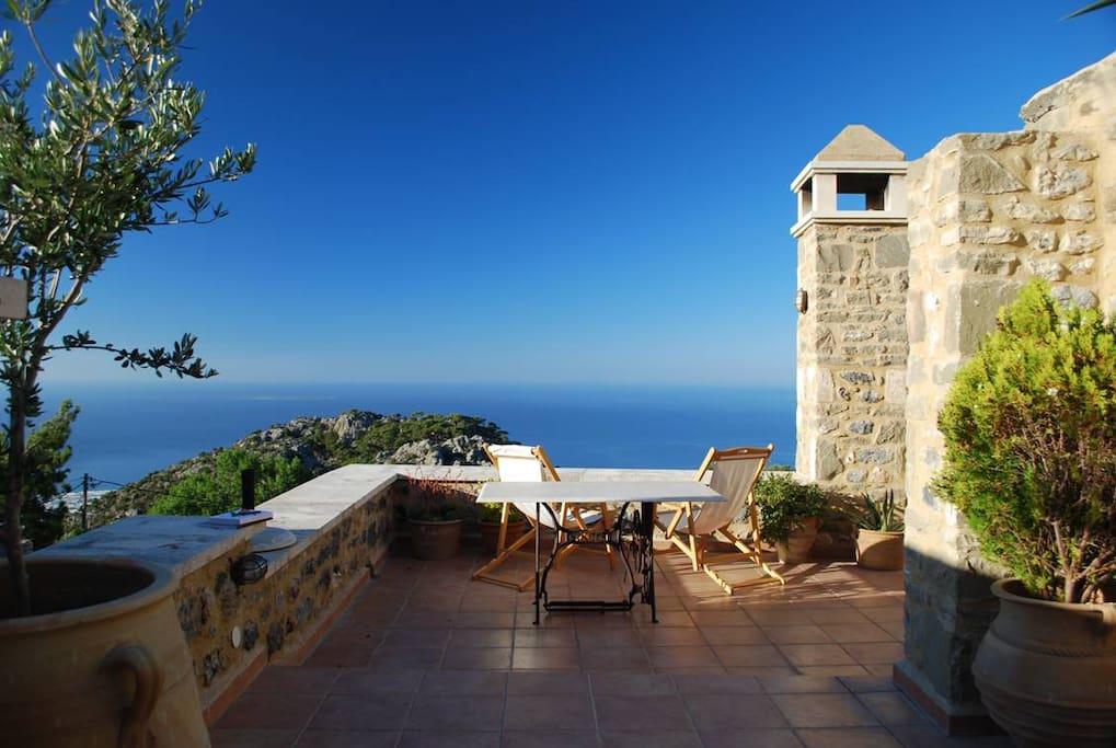 terrace panoramic views