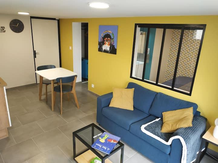 Appartement à 7km du Puy du fou, les Herbiers