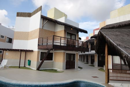 Nice New house- front the beach - Extremoz - Casa
