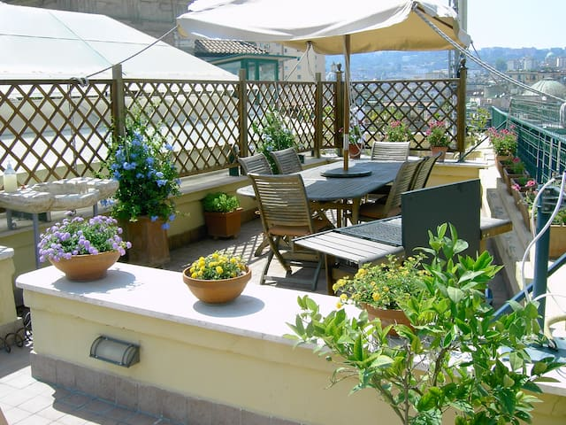 A wonderful penthouse in Naples - Napels - Appartement
