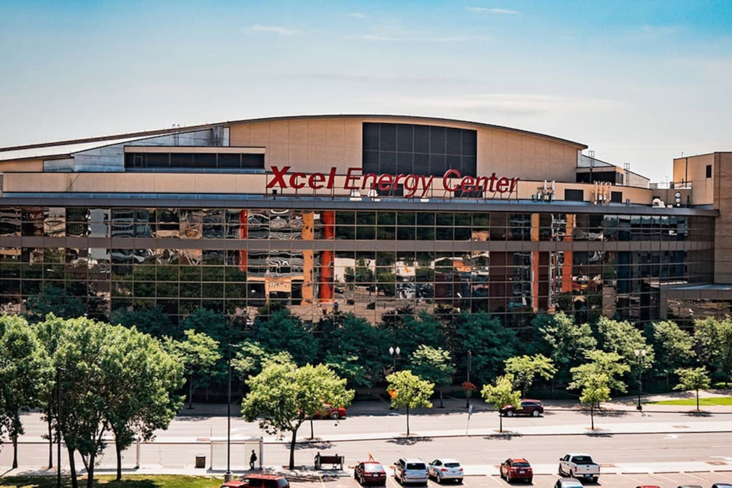 Just two blocks from the Xcel energy center