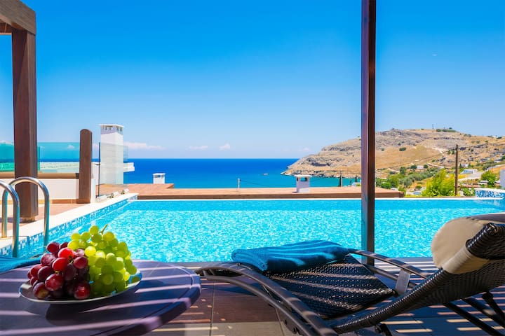 "Sea View Villa""Ellada"", Just 3km From Lindos! - Lindos - Villa"