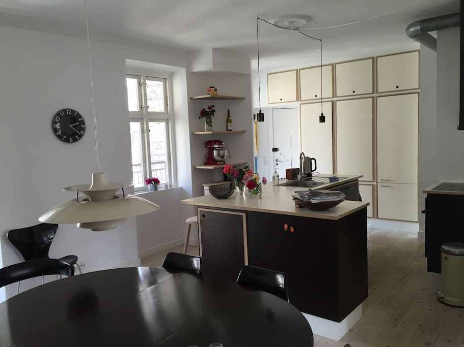 Dining room/open kitchen