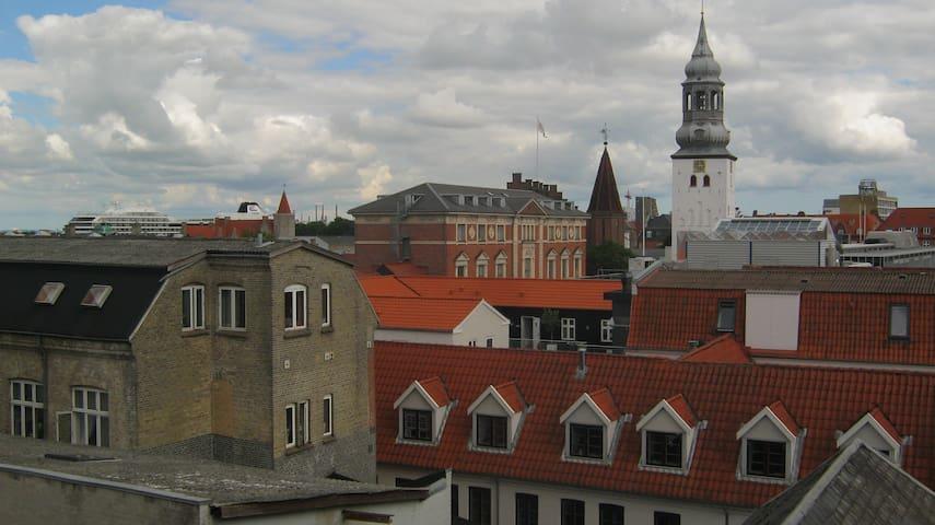 Loft room in the heart of Aalborg - Aalborg - Appartement