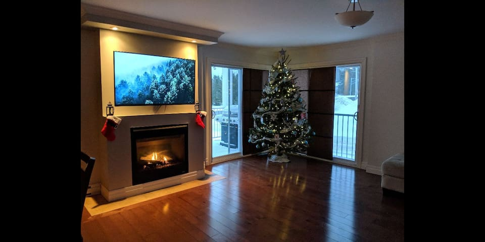 5 bedroom condo near ski hill and lake
