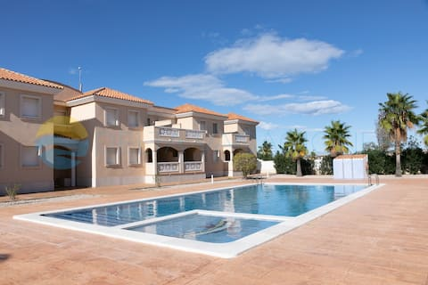 Fantastic apartment with private pool