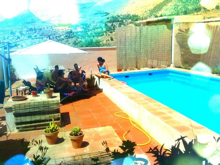 chalet parque natural la Alfaguara