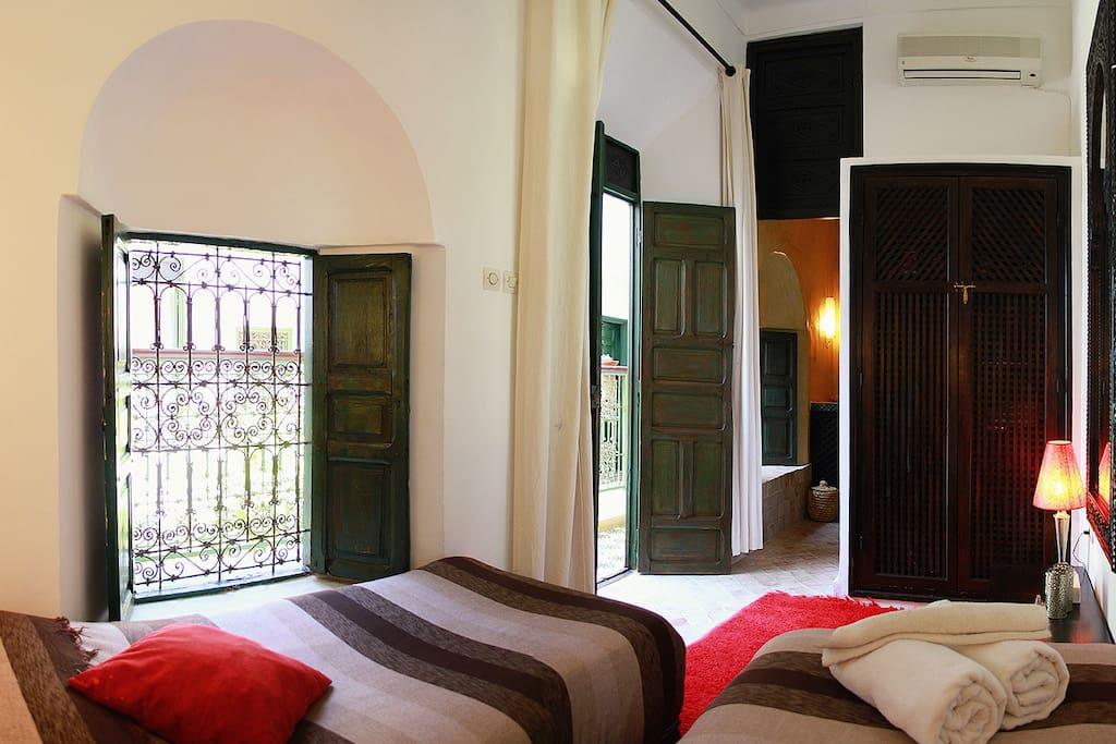 Riad - Chambre Muscade