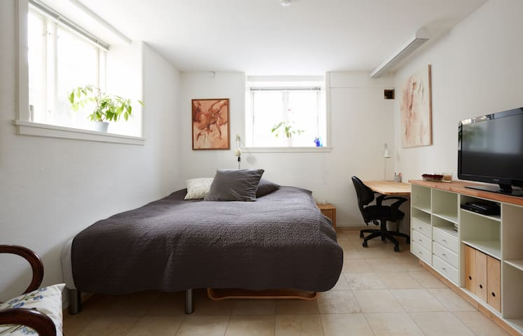 Private room, own kitchen+bathroom - Hellerup - Apartamento