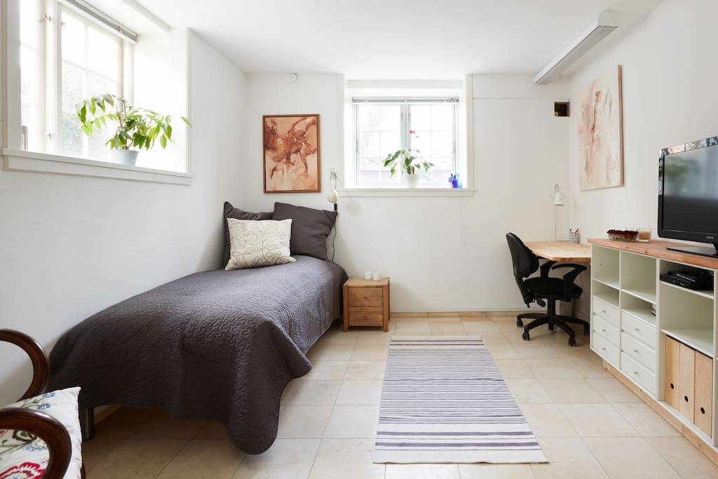 The room with one bed