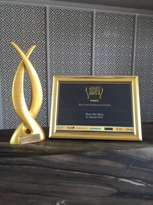 Best Condo In Phuket Award!