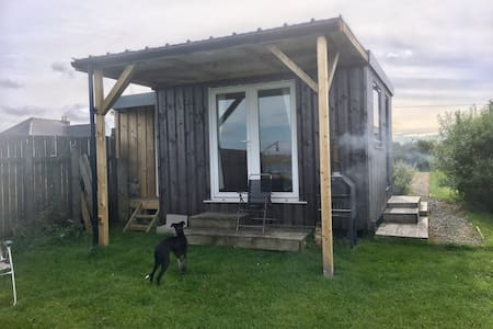 The Upcycled Shack at the back
