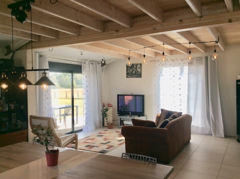 Chambre chez Brigitte à Villars Les Dombes