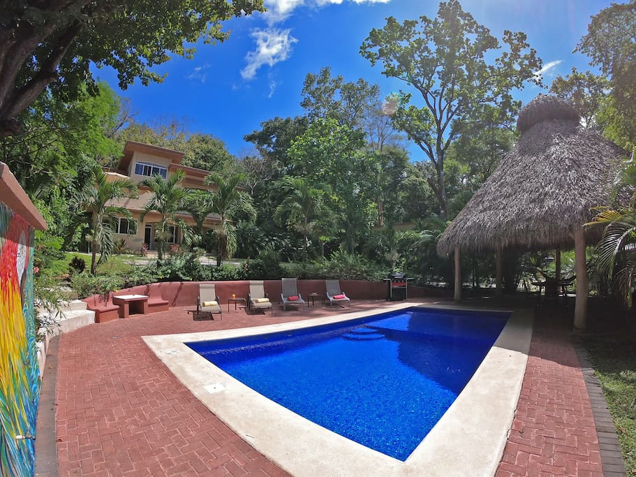 The perfect tropical setup in Mal Pais.