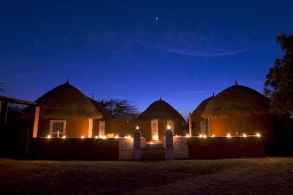 Experience Jodhpur With Chhotaram Prajapats Family Huts