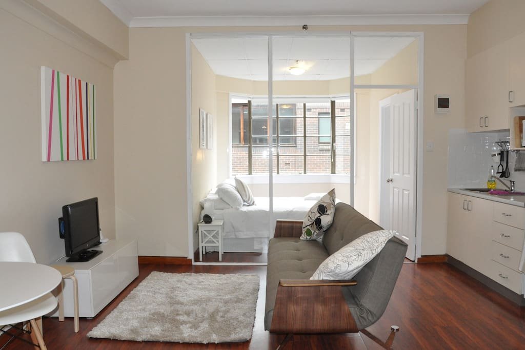 Fresh and contemporary look and feel with many comforts of home.