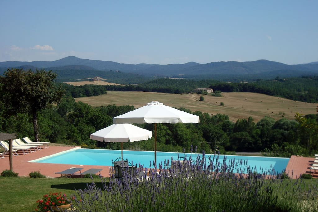 This is a tuscan landscape!