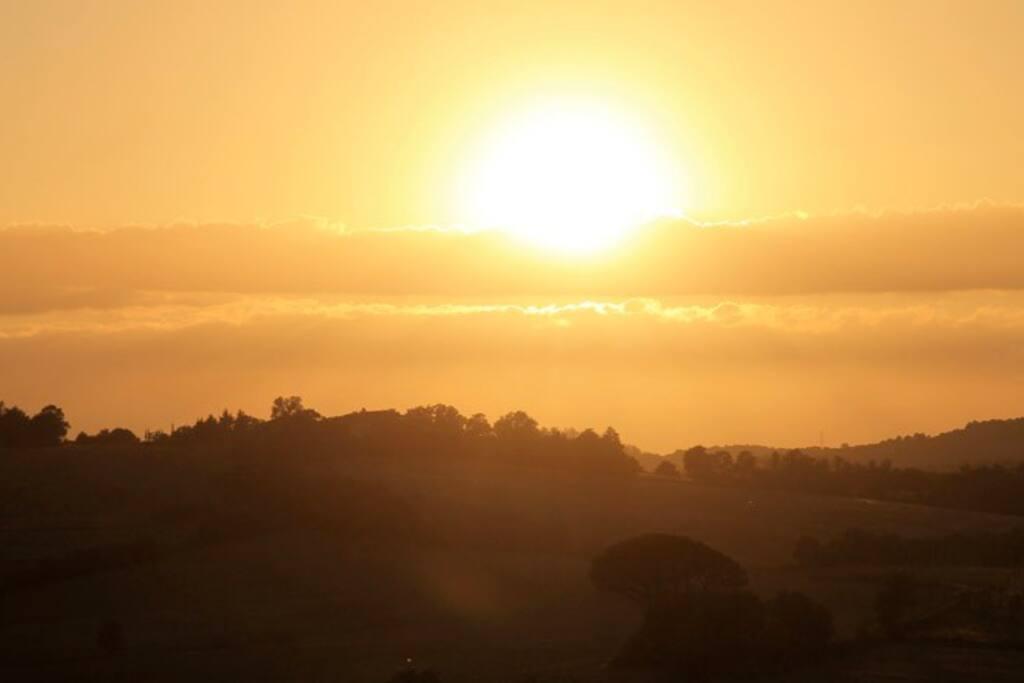 September's sunset